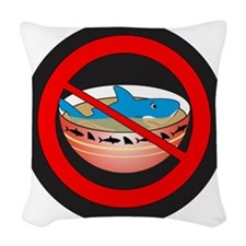 Not In My Soup Woven Throw Pillow