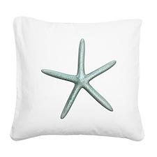 starfish Square Canvas Pillow
