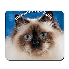 Birman Cat Magnet Mousepad