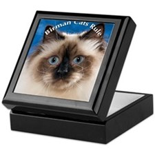 Birman Cat Magnet Keepsake Box