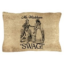 Mr Wickham Swag Pillow Case