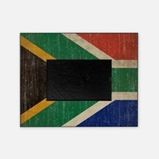 Vintage South Africa Flag Picture Frame