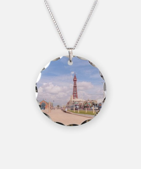 Blackpool Tower and Oar Necklace