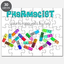 pharmacist counts happy pills Puzzle