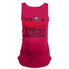 PIRATE_THING22 Maternity Tank Top