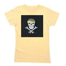 Skull and Tools Girl's Tee