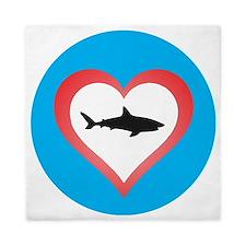 Love Sharks Queen Duvet