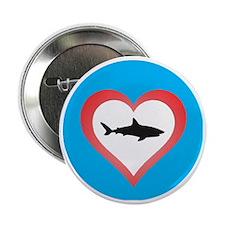 "Love Sharks 2.25"" Button"