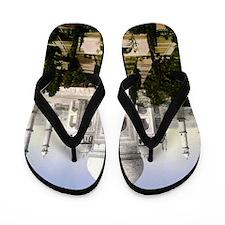 Vintage Taj Mahal Flip Flops