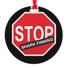 Stop Shark Finning Ornament