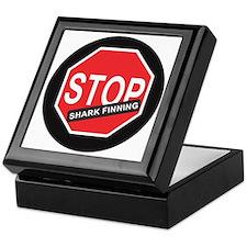 Stop Shark Finning Keepsake Box