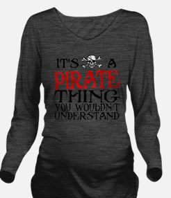 PIRATE_THING2 Long Sleeve Maternity T-Shirt