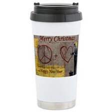 Merry Christmas and Happy New Y Travel Mug