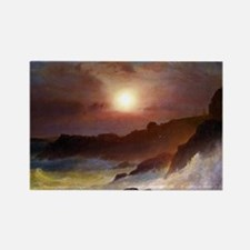 Frederic Edwin Church Coast Scene Rectangle Magnet