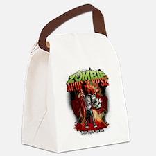 Zombie Apocalypse art Canvas Lunch Bag