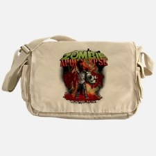 Zombie Apocalypse art Messenger Bag