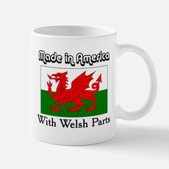 Welsh Parts Mug