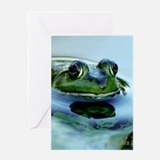 Frog Watching you Watching Me Greeting Card