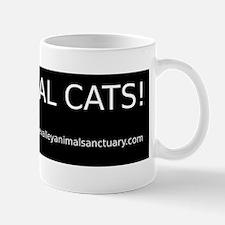 CVAS I Heart Feral Cats BumperSticker Mug