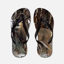 Buck deer Flip Flops