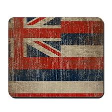 Vintage Hawaii Flag Mousepad