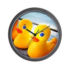 Rubber Ducky Wall Clock