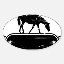 rustic horse Decal