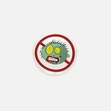 Anti-Zombie Logo! Mini Button
