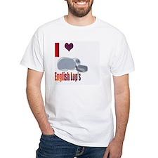 I love English Lops Shirt