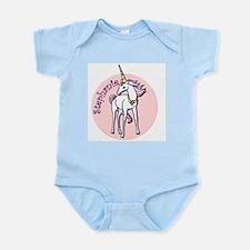 Stephanie Unicorn Infant Bodysuit