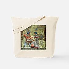 Tutankhamons Throne Tote Bag