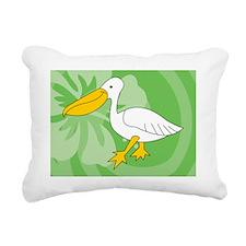 Pelican Power Bank Rectangular Canvas Pillow
