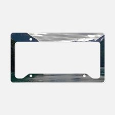 Tracy Arm Glacier License Plate Holder