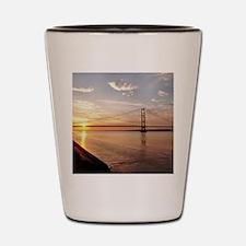 Humber Bridge Sunset Shot Glass