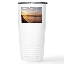 Humber Bridge Sunset Travel Coffee Mug