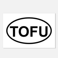 tofu Postcards (Package of 8)