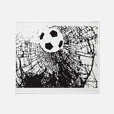 Shattered Glass Ball Throw Blanket