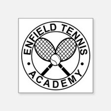 "Enfield Tennis Academy - Fr Square Sticker 3"" x 3"""