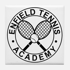 Enfield Tennis Academy - Front Tile Coaster