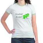 Fookin' Eejit! Jr. Ringer T-Shirt