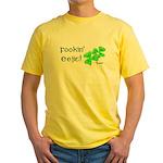 Fookin' Eejit! Yellow T-Shirt