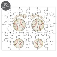 Baseball Feet Puzzle