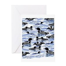 Lots of Loons! Greeting Card
