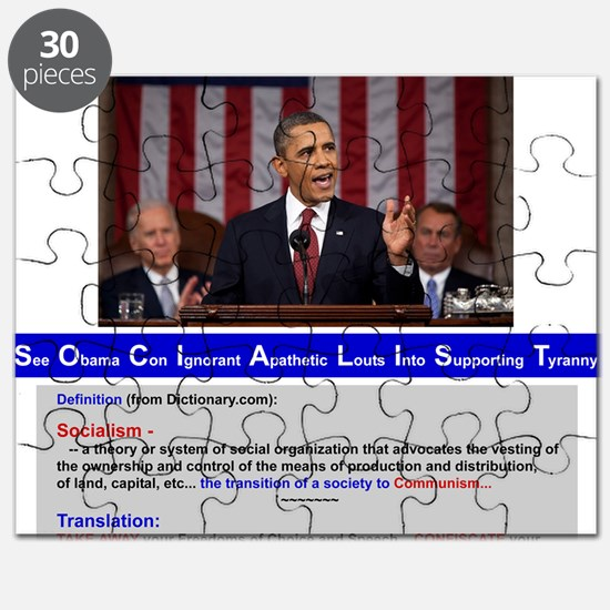 SOCIALIST - The Obama Path - DETAILED - Puzzle