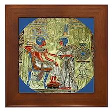 Tutankhamons Throne Framed Tile