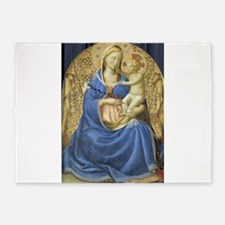 Madonna of Humility - Fra Angelico 5'x7'Area Rug