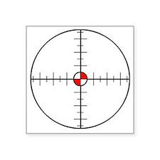 """sniper Square Sticker 3"""" x 3"""""""