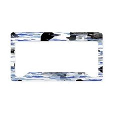 Lots of Loons! License Plate Holder