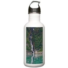 Glacier Waterfall Water Bottle