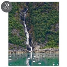 Glacier Waterfall Puzzle